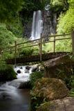 Wasserfall von Besse in Auvergne Lizenzfreie Stockbilder