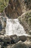 Wasserfall von einem Fluss in Marokko Lizenzfreies Stockbild