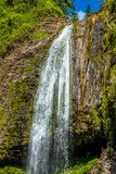 Wasserfall von Tahiti lizenzfreie stockfotos