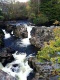 Wasserfall in Wales stockbilder