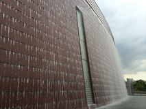 Wasserfall-Wand Lizenzfreie Stockfotos