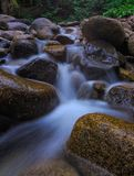 Wasserfall, Washington State Stockfotos