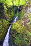 Wasserfall in weißem Fluss Lizenzfreie Stockbilder