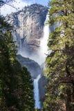 Wasserfall in Yosemite stockfotografie