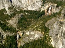 Wasserfall-Yosemite Nationalpark Stockbild