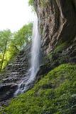 Wasserfall Zeleni Vir Stockbilder