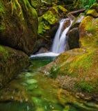 Wasserfall in zentralem Washington State Stockfotos