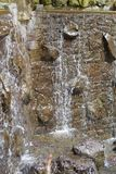 Wasserfallbrunnen Stockfotografie