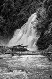 Wasserfalllandschaft Lizenzfreies Stockbild