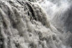 Wasserfallnahaufnahme Stockfotografie