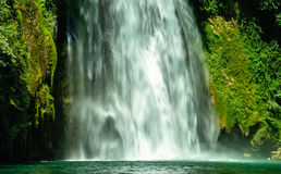 Wasserfallnahaufnahme Isoladel Liri Lizenzfreie Stockfotos