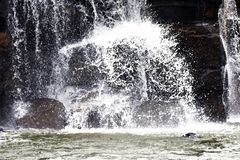 Wasserfallname ` s Phoy Wasserfall lizenzfreies stockfoto
