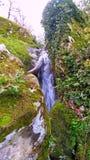 Wasserfallnatur Lizenzfreie Stockbilder