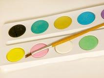 Wasserfarben Lizenzfreie Stockfotos