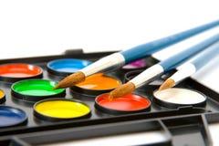 Wasserfarbenlacke lizenzfreie stockfotografie