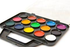 Wasserfarbenlacke stockfoto
