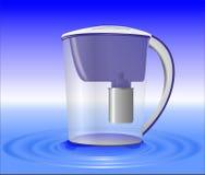 Wasserfilter lizenzfreie abbildung