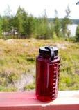 Wasserflasche Stockfoto