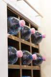 Wasserflaschen Lizenzfreies Stockfoto