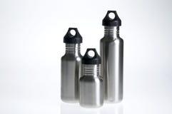 Wasserflaschentrio lizenzfreie stockfotos