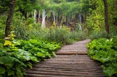Wasserfälle plitvitce Lizenzfreies Stockbild