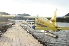 Wasserflugzeuge Alaska Stockfotografie
