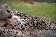 Wasserfrühling Lizenzfreie Stockfotos