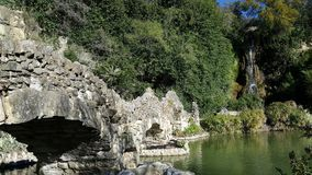 Wassergärten Stockfotos