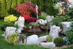 Wassergarten Lizenzfreie Stockfotos