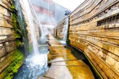 Wassergarten Reden στο χωριό Schiffweiler Στοκ φωτογραφίες με δικαίωμα ελεύθερης χρήσης