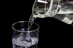 Wassergießen Stockbild