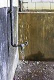 Wasserhahn gedreht Lizenzfreies Stockbild