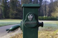 Wasserhahn im Park Lizenzfreie Stockfotos