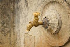 Wasserhahn in San Marino Stockfotografie