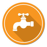 Wasserhahnikone Stockfotografie