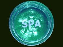 wasserhaltige Schüssel 3D-SPA Lizenzfreies Stockbild