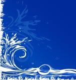 Wasserhintergrund Stockbilder