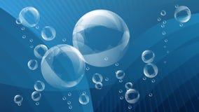 Wasserhintergrund Stockfoto
