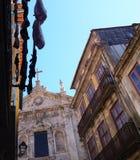 Wasserij het Hangen in Porto, Portugal Stock Afbeelding