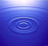 Wasserkräuselungen Lizenzfreies Stockbild