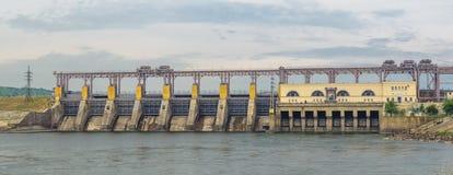 Wasserkraft-Kraftwerk stockbilder