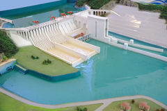 Wasserkraft-Station lizenzfreie stockbilder