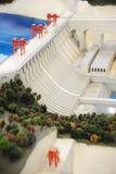 Wasserkraft-Stationbaumuster lizenzfreies stockbild