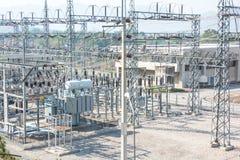Wasserkraftstation Lizenzfreie Stockfotografie