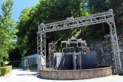 Wasserkraftwerk-Dynamo lizenzfreie stockfotos