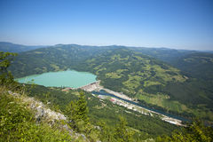 Wasserkraftwerk, Perucac Verdammung Stockfotos