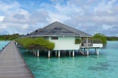 Wasserlandhäuser stockfotografie