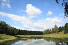 Wasserlandschaft Stockfotos