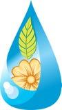 Wasserleben lizenzfreie abbildung
