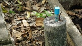 Wasserleitung stockbilder